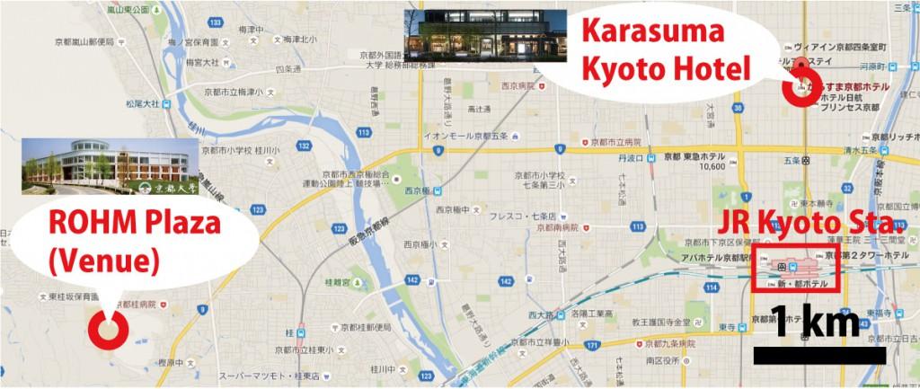 KarasumaKyotoHotelToVenue