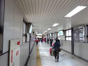 Passage toward the West Exit
